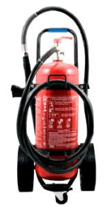 Extincteur 25 / 50L eau pulvérisée avec additif ABF